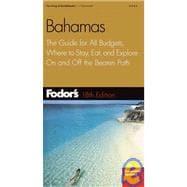Fodor's Bahamas,18th Edition