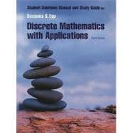 Student Solutions Manual for Epp�s Discrete Mathematics with Applications, 3rd