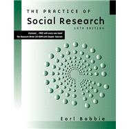 The Practice of Social Research (with CD-ROM and InfoTrac)