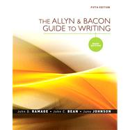 Allyn & Bacon Guide to Writing: Brief Edition Value Package (includes MyCompLab NEW with E-Book Student Access )