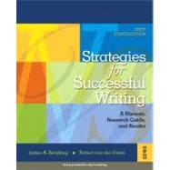 Strategies for Successful Writing : A Rhetoric, Research Guide, and Reader