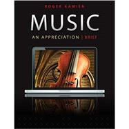 Music:  An Appreciation (Brief) Connect Upgrade Edition with 5 CD set