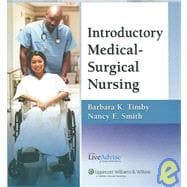 Introductory Medical-Surgical Nursing Plus LiveAdvise Online Student Tutoring Service
