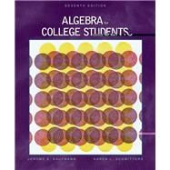 Algebra for College Students (with CD-ROM and InfoTrac)