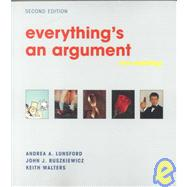 Everythings an Argument With Readings: With Readings