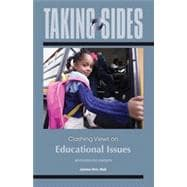 Taking Sides: Clashing Views on Educational Issues
