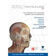 Anatomy and Physiology Revealed Version 3. 0 CD-ROM for Allied Health
