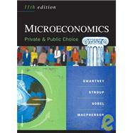 Microeconomics : Public and Private Choice