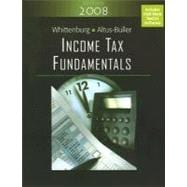 Income Tax Fundamentals 2008 (Book with CD-ROM)