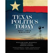 Texas Politics Today, 2011-2012 Edition, 15th Edition