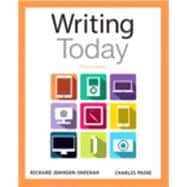 Writing Today Plus MyWritingLab with Pearson eText -- Access Card Package