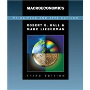 Macroeconomics Principles and Applications (with InfoTrac)