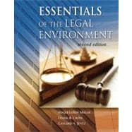 Cengage Advantage Books: Essentials of the Legal Environment (with Online Legal Research Guide)