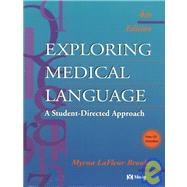 Exploring Medical Language: A Student-Directed Approach (Book with CD-ROM for Windows and Macintosh with Flashcards)