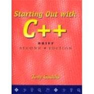 Starting Out With C++: Brief