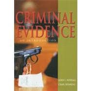 Criminal Evidence : An Introduction