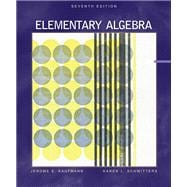 Elementary Algebra With Bca Tutorial, and Infotrac