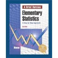 Elementary Statistics: A Brief Version with Interactive CD-ROM