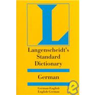 Langenscheidt's Standard German Dictionary: English-German German-English