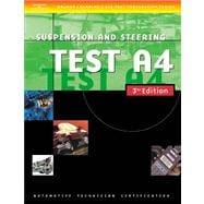 Automotive ASE Test Preparation Manuals, A4 : Suspension and Steering