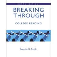 Breaking Through: College Reading  Value Pack (includes Henry Reader Series + RRT Special Edition CourseCompass Student Access  & Study  for Reading Skills)
