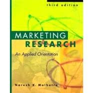 Applied Marketing Resrch : An Applied Orientation