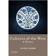 Cultures of the West A History, Combined