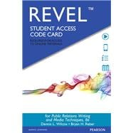 REVEL for Public Relations Writing and Media Techniques  -- Access Card