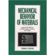 Mechanical Behavior of Materials : Engineering Methods for Deformation, Fracture and Fatigue