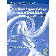 Student Solutions Manual t/a Contemporary Precalculus