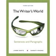 Writer's World : Sentences and Paragraphs (with NEW MyWritingLab with Pearson EText Student Access Code Card)