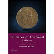Cultures of the West A History, Volume 2: Since 1350