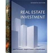 Real Estate Investment, 7th Edition
