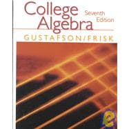 College Algebra (with CD)