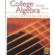 College Algebra (with CD)