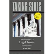 Taking Sides: Clashing Views on Legal Issues, Expanded
