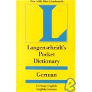 Langenscheidt's Pocket Dictionary German: German-English/English-German