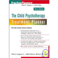The Child Psychotherapy Treatment Planner, 3rd Edition