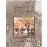 American History: A Survey, Volume 1 MP w/Powerweb