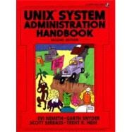 UNIX System Administration Handbook (Bk\CD ROM)