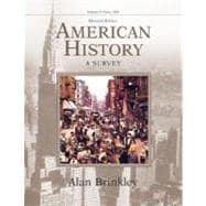 American History: A Survey, Volume 2 MP w/PowerWeb