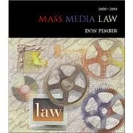 Mass Media Law (2001 Ed)