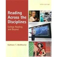 Reading Across the Disciplines (with MyReadingLab Pearson eText Student Access Code Card)