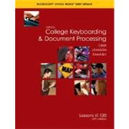 Gregg College Keyboarding and Document Processing(GDP), Word 2007 Update, Kit 2, Lessons 61-120 with Home Software 2. 0
