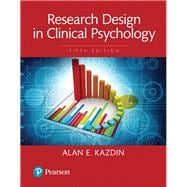 REVEL for Research Design in Clinical Psychology -- Access Card