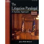 LITIGATION PARALEGAL 4E