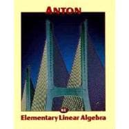 Elementary Linear Algebra, 8th Edition