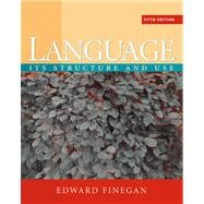 Language : Its Structure and Use
