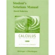 Students Solutn Man Calculus And Its Applications, 9/E