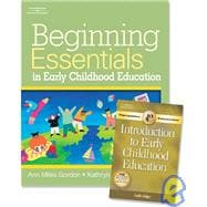 Beginning Essentials in Early Childhood Education (with Professional Enhancement Booklet)